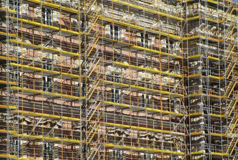Ponteggio allarmato: una sicurezza per condomini o edifici residenziali